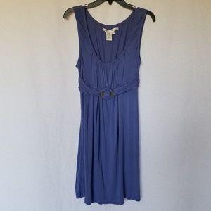 Max Studio blue sleeveless dress size large